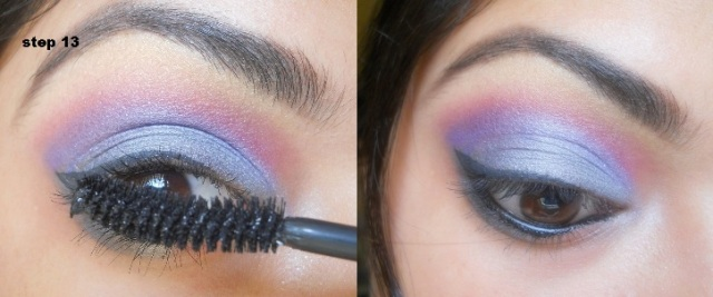 Gunpowder Grey and Purple Eye Makeup Tutorial (7)