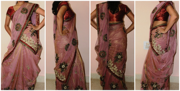 bengali saree with twist love the bengali saree but