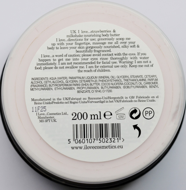 Strawberry Body Butter 2