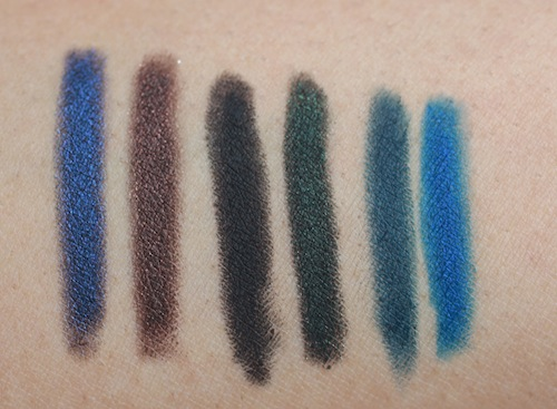 chambor stay on waterproof-eye pencil swatches