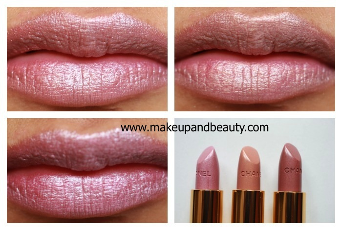 chanel lip swatches