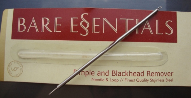 Bare Essentials Pimple and Blackhead Remover Needle & Loop (8)