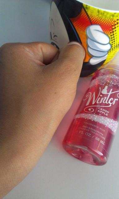 Bath & Body Works Winter Candy Apple Fragrance Mist