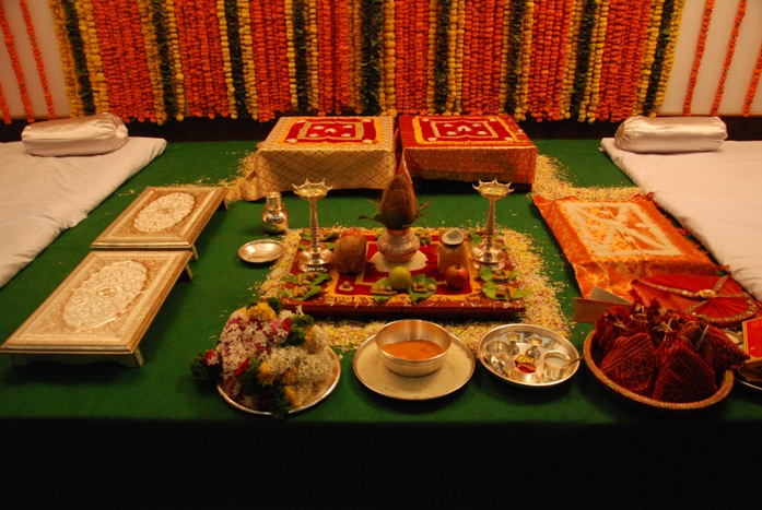 Maharashtrian Wedding Stage Decoration : Indian maharashtrian bridal special
