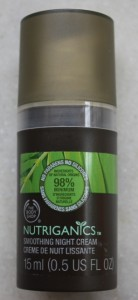 The Body Shop Nutriganics Smoothing Night Cream (3)