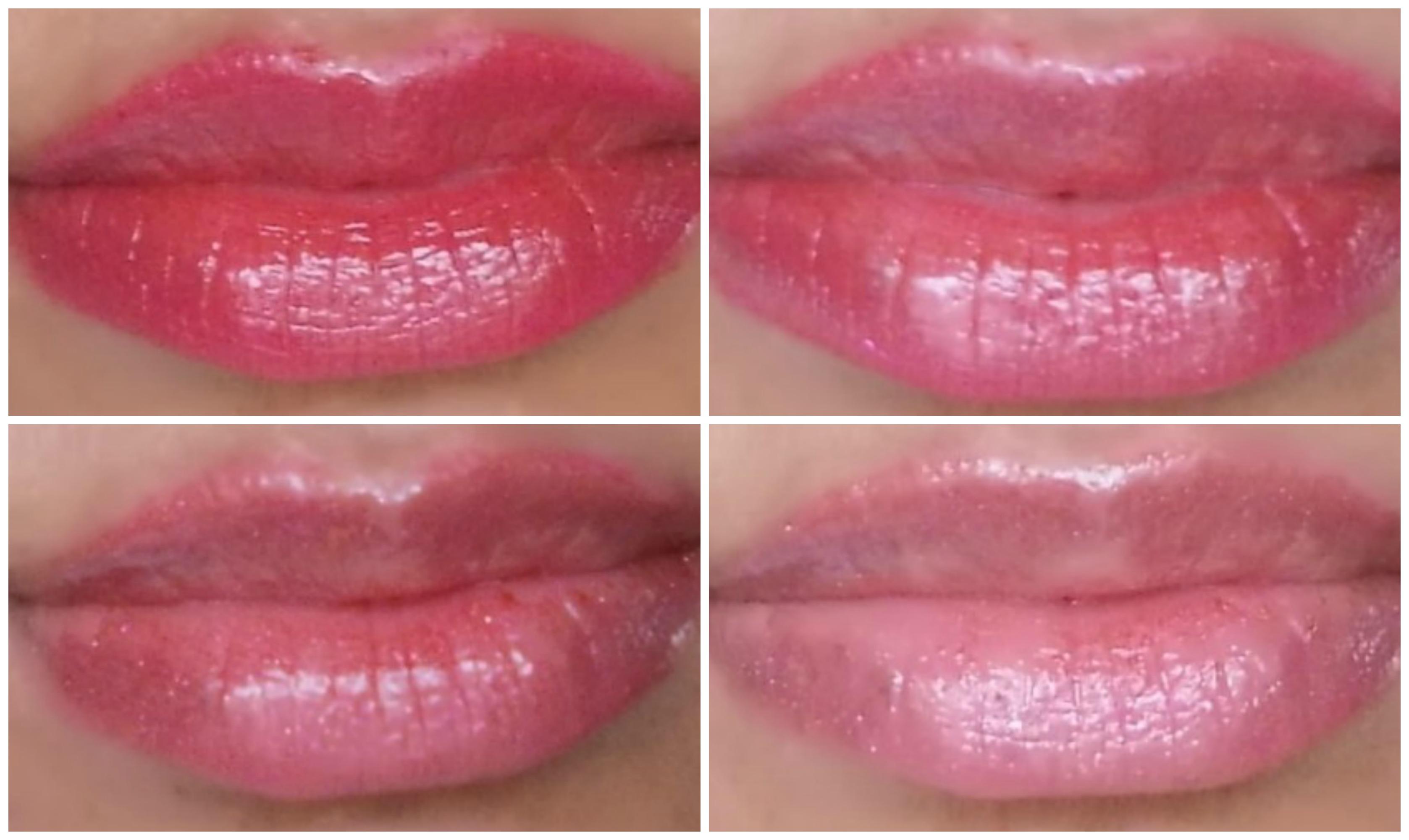 4 glossy lips