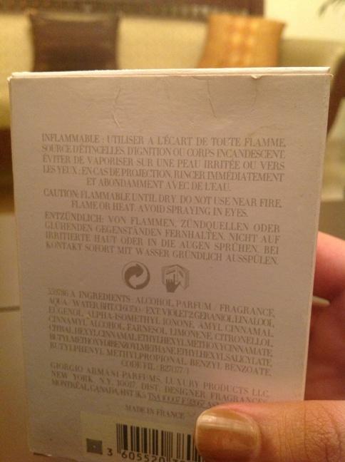 Armani Perfume 2
