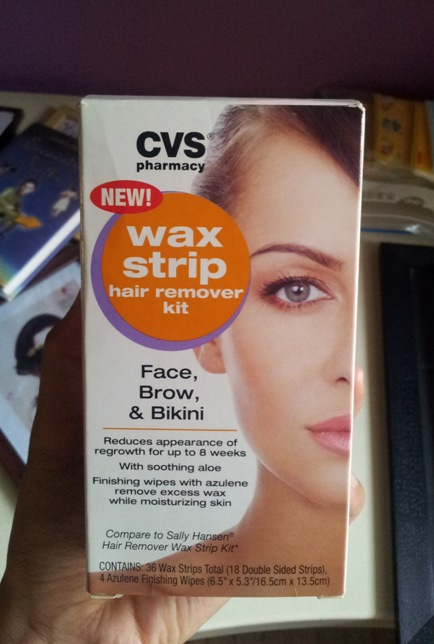 CVS+Wax+Strip+Hair+Remover+Kit+Review