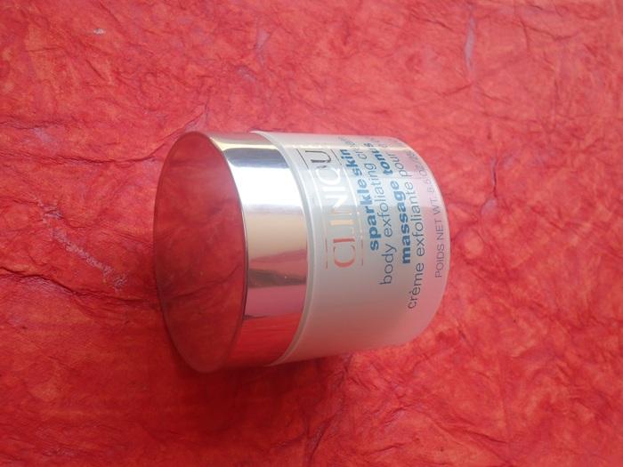 Clinique Sparkle Skin Body Exfoliating Cream 4