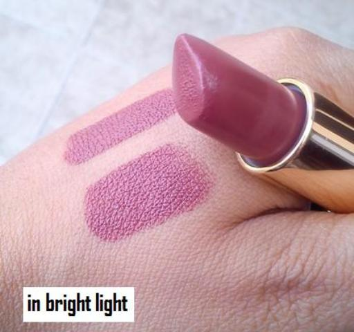 Diana of London Surpise lipstick Pink Rose swatches (2)