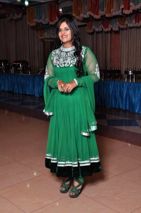 Outfit+of+the+Day+Green+Zarkan+Work+Anarkali