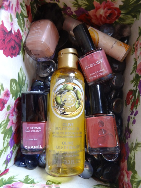 The body shop Olive Beautifying oil (3)