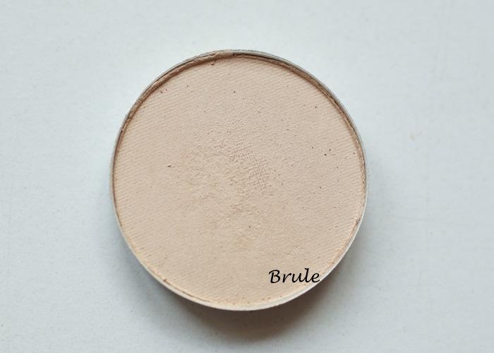 Mac Eyeshadow Brule Romp Charcoal Brown Nehru Tete A Tint