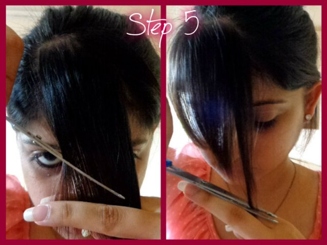 How To Cut Side Swept Bangs At Home Do It Yourself