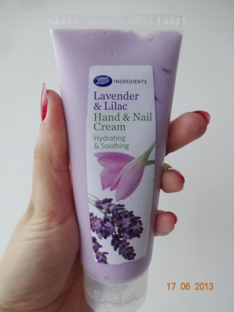 Boots Lavender and Lilac Hand and Nail cream