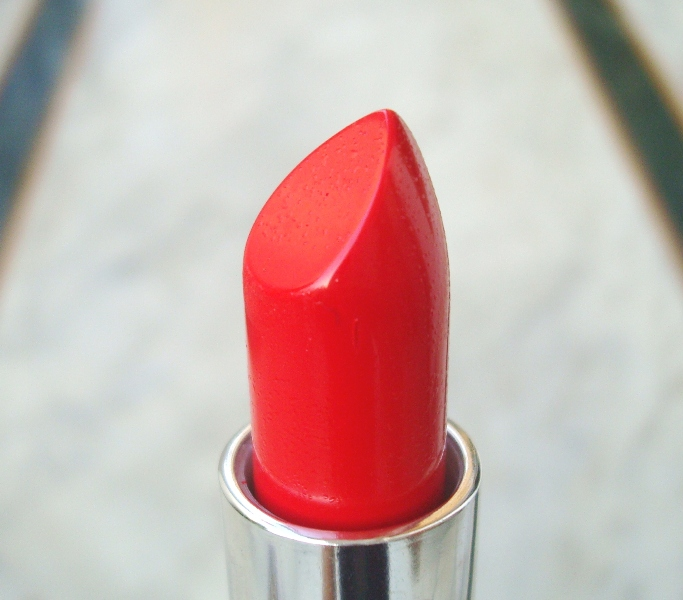 Bright red lipstick 8