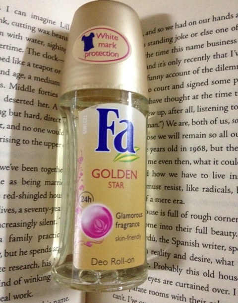 Fa+Deo+Roll+On+Golden+Star+Review