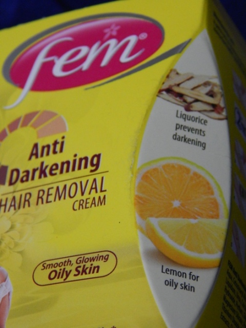 Fem Anti Darkening Hair Removal Cream