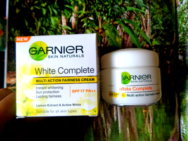 Garnier+White+Complete+Multi+Action+Fairness+Cream+Review