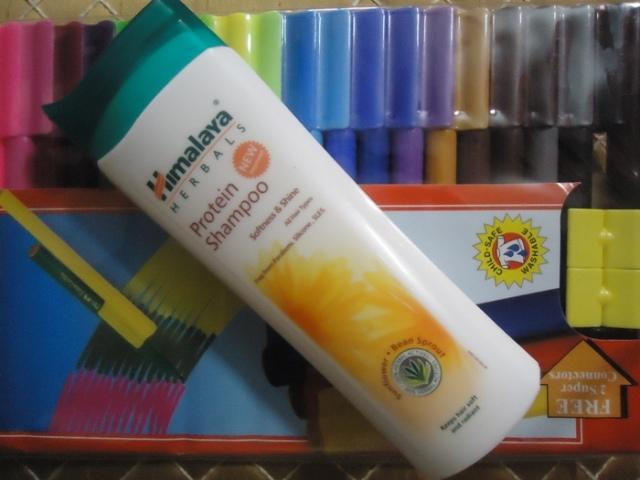 Himalaya Herbals Protein Shampoo Softness and  Shine