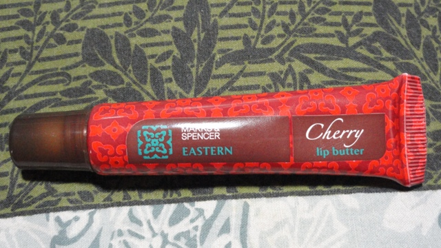 MARKS AND SPENCER LIP BUTTER