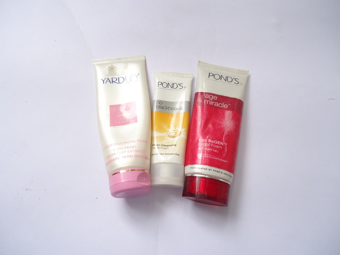 Pond's face wash