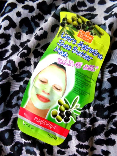 Purederm Ultra Hydrating Shea  Butter Mask