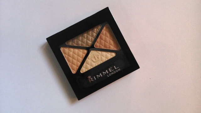 Rimmel London Glam Eyes Quad Eye Shadow  Sun Safari