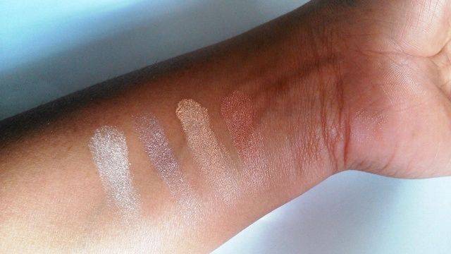 Rimmel London Glam Eyes Quad Eye Shadow - Sun Safari swatches