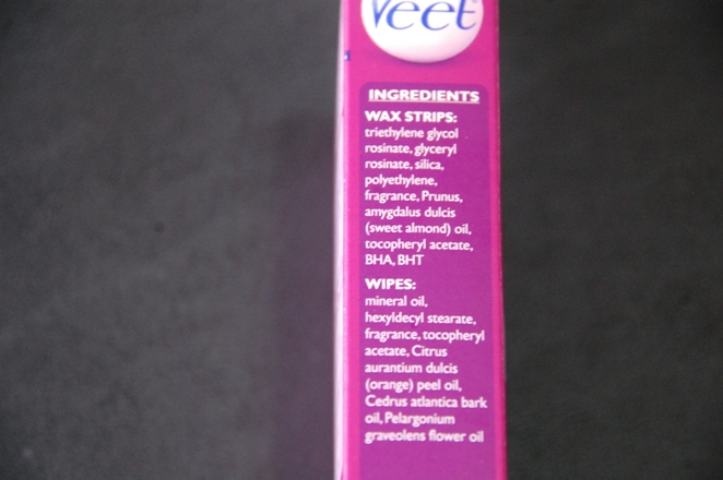 Veet Ready To Use Wax Strips for Bikini, Underarm and Face 3