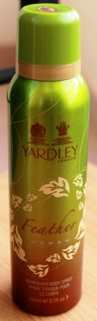 Yardley London Feather Woman Refreshing BodySpray