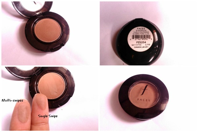 faces canada eye shadow single