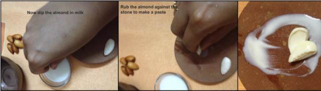 how to use almond in beauty routine