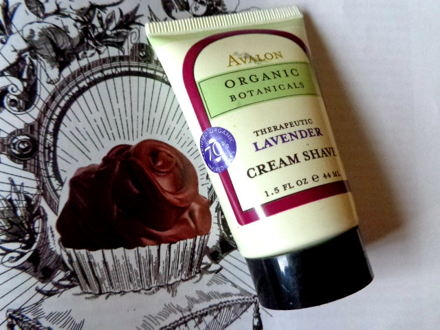 Avalon Organic Botanicals Therapeutic Lavender Cream Shave
