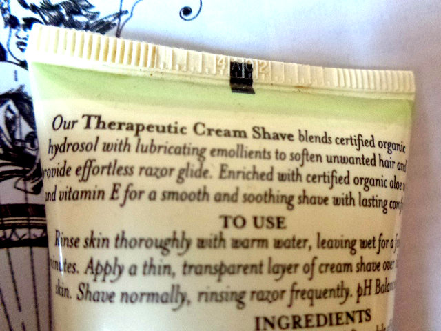 Avalon Organic Botanicals Therapeutic Lavender Cream Shave (4)