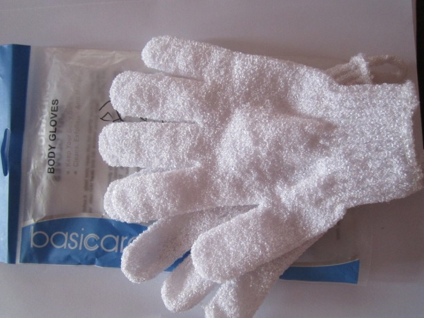 Basicare Exfoliating Body Gloves 5