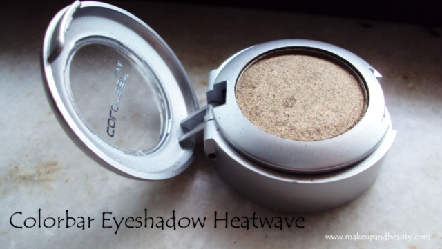 Colorbar Single Eyeshadow - 03 Heatwave  (8)