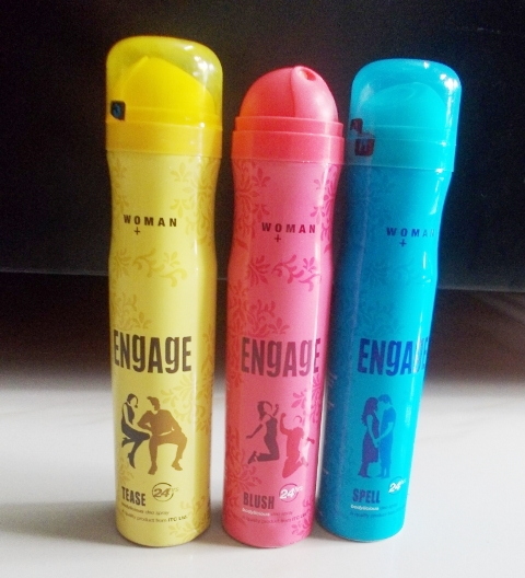 Engage Bodylicious Deo Spray Tease Spell  &Blush