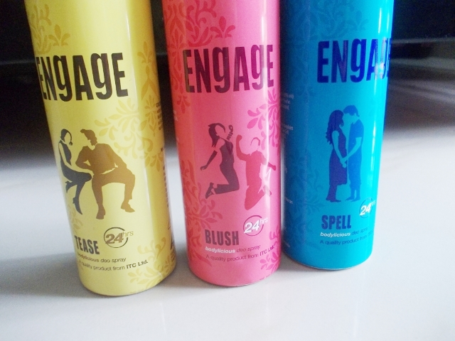 Engage Bodylicious Deo Spray Tease, Spell & Blush (2)