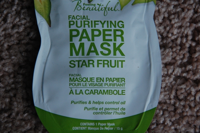 Freeman Starfruit Facial Purifying Paper Mask 3