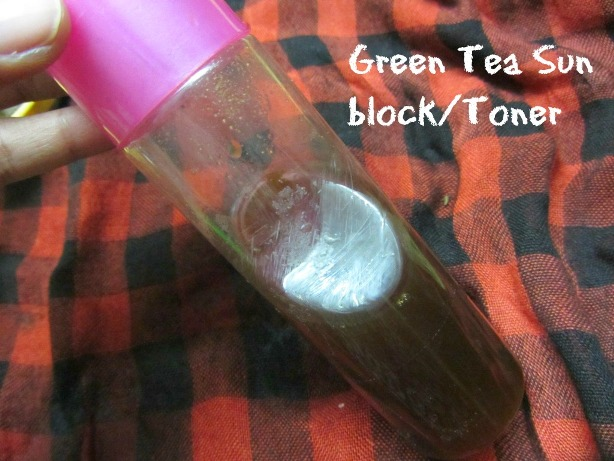 Green Tea Toner and Face Pack 12