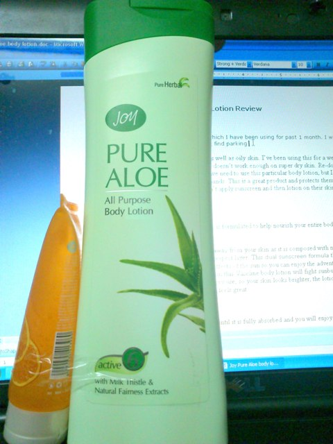 Aloe Lotion Review Purpose Body Lotion Review