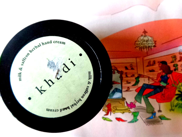 Khadi+Milk+and+Saffron+Herbal+Hand+Cream+Review
