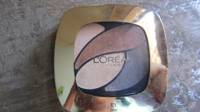 L'Oreal Color Riche Ombre Eyeshadow Quad - Beige Trench (1)