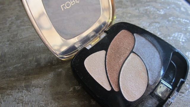 L'Oreal Color Riche Ombre Eyeshadow Quad - Beige Trench (3)