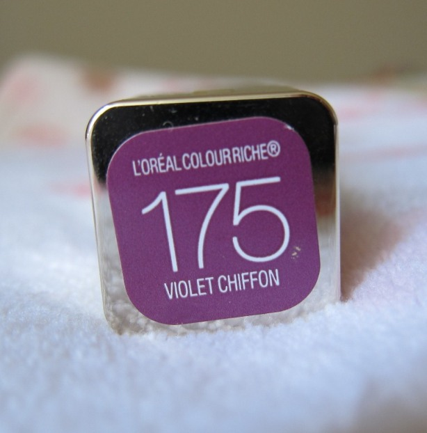 L'Oreal Colour Riche Lip Color - Violet Chiffon 2