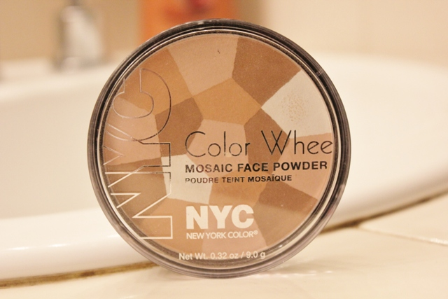 N.Y.C Color Wheel Mosaic Face Powder – Translucent Highlighter Glow (1)