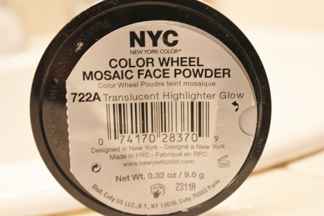 N.Y.C Color Wheel Mosaic Face Powder – Translucent Highlighter Glow (2)