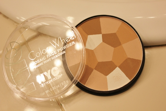 N.Y.C Color Wheel Mosaic Face Powder – Translucent Highlighter Glow (4)