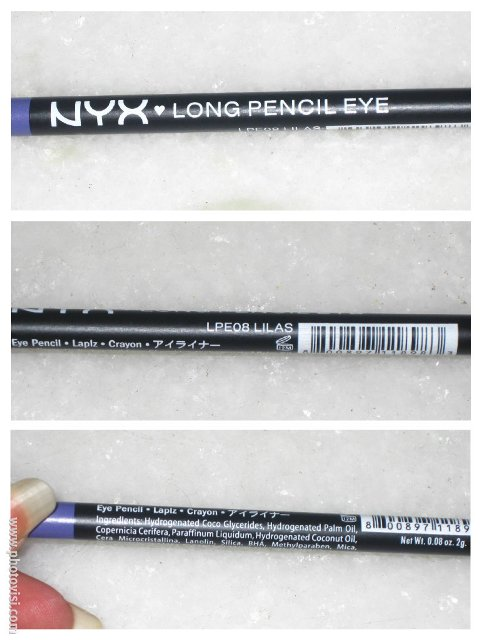 NYX Long Pencil Eye - Lilas (1)